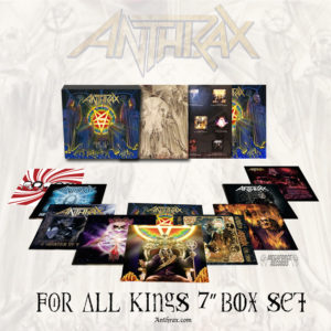 "Album Review: Anthrax ""For All Kings 7-Inch Box Set"""